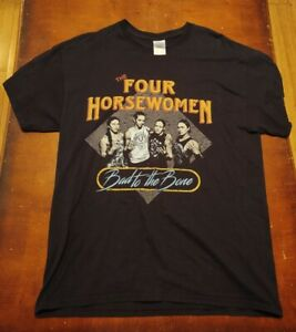 THE FOUR HORSEWOMEN OF MMA LARGE SHIRT WWE NXT RONDA ROUSEY WRESTLING