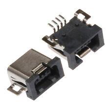 USB Mini femelle a Souder SMD SMT Connecteur Assemblage Couvercle Caoutchouc