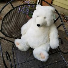 Bear White Polar Stuffed Plush Russplus Animal