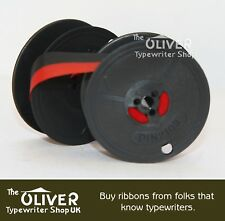 Olivetti Red & Black Typewriter Ribbon and Spool   ***High Quality***