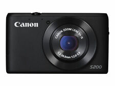 Canon PowerShot s200 10.1mp Digitalkamera-Schwarz