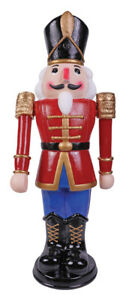 Nutcracker Prop Animated Outdoor Soldier 3 FT Christmas Decoration