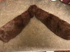 Antique 1920s Stoat Fur Stole/collar Genuine