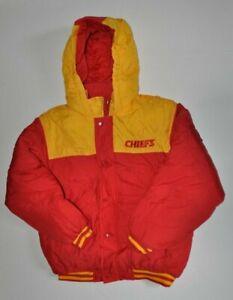 NFL Vintage Kansas City Chiefs Youth Hooded Jacket Size L 14-16