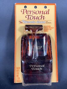 Vintage Schick Personal Touch Women's Razor The Cosmetic Shave