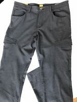 NWT $155 Boss Hugo Boss 'Sinest1' Gray Slim Fit Mens Pants 50 Euro (34 US)