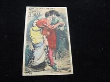 1800's Smith Brothers Pure Borax Coleman Pearl St. NY Victorian Trade Card