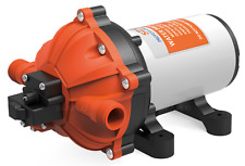 SeaFlo Marine Variable Flow Water Pump with Bypass Valve 12 V 5.5 GPM Boat 60psi