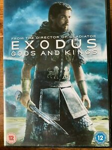 Exodus Gods and Kinds DVD 2014 Ridley Scott Moses Movie Epic w/ Christian Bale