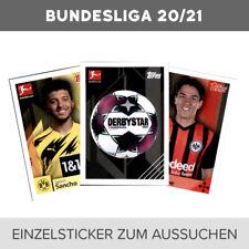 Topps Bundesliga 2020/21 2021 Einzelsticker 1 - 208 zum aussuchen