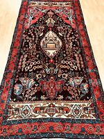 "4'6' x 9'7"" Turkish Oriental Rug - Full Pile - Hand Made - 100% Wool"