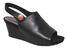 sz 9 / 40 TS TAKING SHAPE Andi Wedge super-comfy black wide shoes NIB rrp$170!
