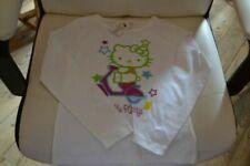 T-shirts blancs Hello Kitty pour fille de 2 à 16 ans