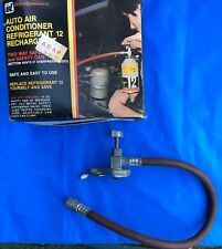 Vintage Interdynamics Auto Air Conditioner Refrigerant Safety Hose, Clamp & Box!