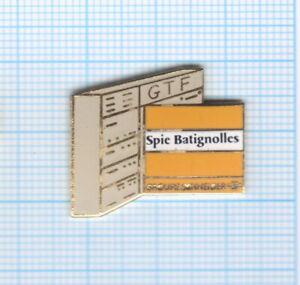 Pin's Spie Batignolles GTF Groupe Schneider