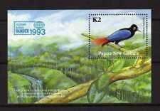 14709) PAPUA & NEW GUINEA 1993 MNH** S/S Birds