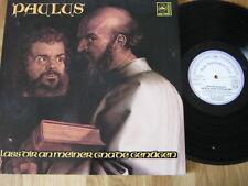 LP  WEIHNACHTEN - PAULUS - ORATORIUM - Schönes KLAPP-Album von Ende 60ger