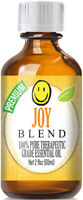 Joy Essential Oil Blend (100% Pure & Natural) Glass Bottle + Euro Dropper
