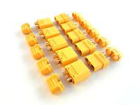 XT90 Hochstrom Gold Stecker Buchse Akku Nylon Lipo 20 Stk (10 Paar)