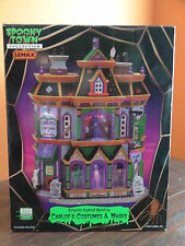 Lemax Spooky Town Carlof's Costumes & Masks Store Shop Haunted Halloween Village