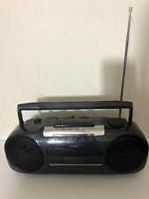 "Vintage AIWA Stereo Cassette Recorder CS-16U Portable 14.5"" long"