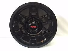 Toyota OEM TRD Pro SEMA Black 17X8 Aluminum Wheel Set of 4 TACOMAWORLD