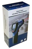DT-8865 Infrared IR Thermometer Gun Dual Laser 1832 F 30:1 Temperature Meter NEW