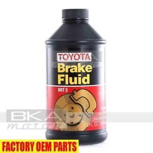 Genuine Dot 3 Brake Fluid 12 Fl. Oz 00475-1BF03 for Lexus and Toyota