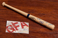 **GFA Seattle Mariners *2013 TEAM* Signed Rawlings Mini Bat COA**