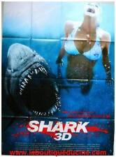 SHARK 3D Affiche Cinéma / French Movie Poster JAWS / LES DENTS DE LA MER REQUIN