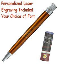 Personalized Retro 51 #VRR-1302 / Orange Tornado Pen / Your Choice of Font