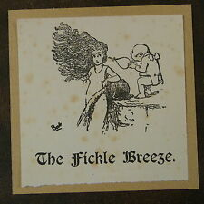 handcrafted G&S Gilbert & Sullivan greeting card PIRATES / THE FICKLE BREEZE