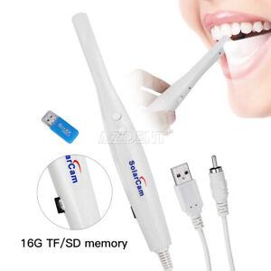 Dental USB Intraoral Camera Oral Endoscope Digital Imaging Intra Oral images 8G
