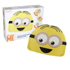 MAKE YOUR OWN MINION DESPICABLE ME BEANIE HAT CHRISTMAS STOCKING FILLER 28-0061