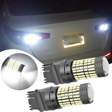 2X 144SMD 3157 LED Reverse Bulb Backup Signal Light 6000K White Car Accessories