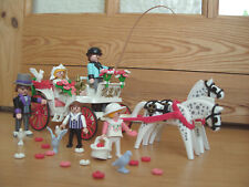 Playmobil 100% Complete Set 5601 Victorian Wedding Carriage