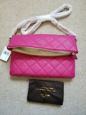 Kate Spade Emerson Place Carson Leather Shoulder Satchel Crossbody Pink