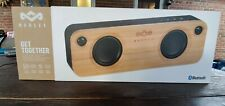 House of Marley, Get Together Bluetooth Portable Audio System, 2x 3.5mm woofers