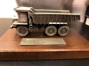 Hudson Pewter Mack M-75SX Off-Highway Dump Truck Dumper - Die Cast Model!!!
