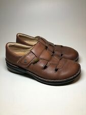 Finn Comfort Brown Leather Orthopedic Sandals Shoes Womens Size 7.5 M EU38