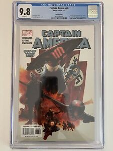Captain America #6 (Variant Edition) CGC 9.8  [1st Appearance of Winter Soldier]