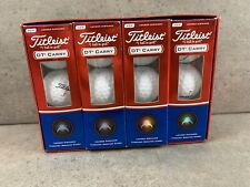 New listing 9 New Titleist DT Carry Golf Balls Box Of 3/3 Sleeves New In Box