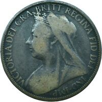 ONE PENNY GB UK QUEEN VICTORIA /VEILED HEAD  CHOOSE YOUR DATE! - ONE COIN/BUY!