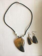 Ethnic Tribal Necklace Set Statement Pendant Custom Jewellery Festival Holiday