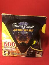 NEW * Star Wars Trivial Pursuit Bite Size Game Boxed