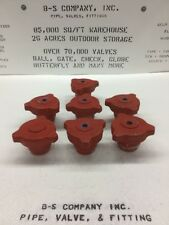 """Yale Closure Fig. 500 2"""" 600 Xh Butt Weld End A350Lf2 W/ 1/2"""" Npt Center Tap"""