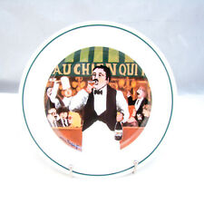 Guy Buffet L'ETALAGE COLLECTION The Shopkeepers 'Wine Steward' Salad Plate EXC