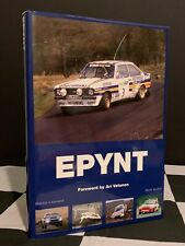 EPYNT A STAGE RALLYING HISTORY OUT OF PRINT BOOK WELSH WALES RALLY GB RAC ESCORT