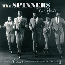 THE SPINNERS Truly Yours + Bonus Tracks NEW & SEALED MOTOWN SOUL CD (KENT)  60s