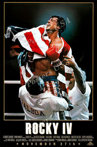 Posters USA - Rocky IV Movie Poster Glossy Finish - MOV023